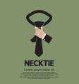 Green Necktie vector image