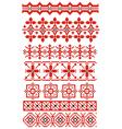 russian ornaments vector image