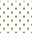 tree with flowers pattern vector image
