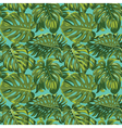 Tropical Leaves Background - Seamless Pattern vector image vector image