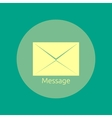 Envelope message vector image