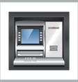 object ATM vector image