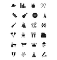 Party and Celebration Icons 2 vector image