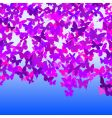 Butterfly sky vector image