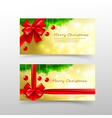005 Christmas card template for invitation and vector image