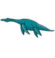 plesiosaurus vector image