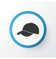 baseball cap icon symbol premium quality isolated vector image