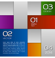 Squares Background vector image