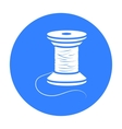 Spool of thread icon of for vector image