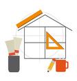 construction concept vector image