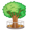 Tree element vector image vector image