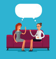 psychological counseling concept vector image