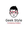 Style Design Geek vector image