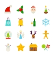 Winter Christmas Objects vector image