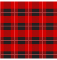 Red Tartan Plaid Pattern vector image