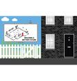 Housing development vector image vector image