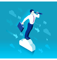 Business Graph 03 People Isometric vector image