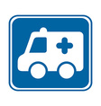 ambulance design vector image
