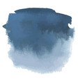 blue gray watercolor hand drawn gradient banner vector image