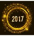 Happy New Year 2017 celebration vector image