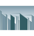 abstract urban landscape vector image