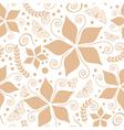 cream natural pattern vector image