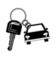 key of a car icon vector image