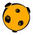 moon icon icon cartoon vector image