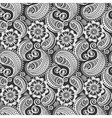 Seamless elegant paisley pattern vector image