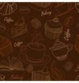 bakery seamless 2 vector image
