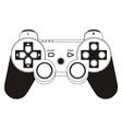 Gamepad joystick vector image