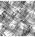 seamless pattern with black scribbles vector image