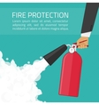 Fire protection vector image
