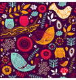 Cute Animals Background vector image