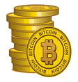 Bitcoin2 resize vector image