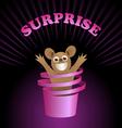 surprise vector image