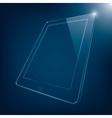 computer tablet vector image vector image