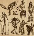 People no29 vector image