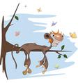 Sloth monkey vector image