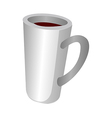 A cup vector image vector image