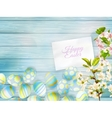 Happy easter Greeting Card EPS 10 vector image