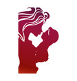 mother and baby icon vector image