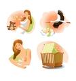 Baby Birth Set vector image