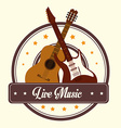 Music design over white background vector image