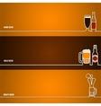 Beer outline for Design 1 vector image
