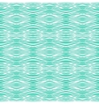Tropical aqua blue pattern with smooth waves vector image