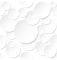 circle stickers on white background for design vector image