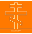 Stock Linear icon cross vector image