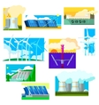 Eco Energy Symbols Set vector image