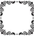 pattern frame vector image